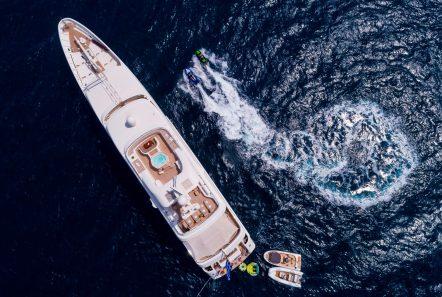 marla megayacht aerial (1) -  Valef Yachts Chartering - 3883
