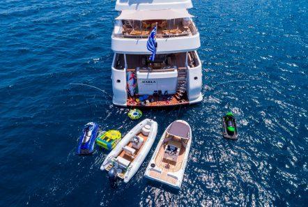 marla megayacht aerial (2) -  Valef Yachts Chartering - 3882