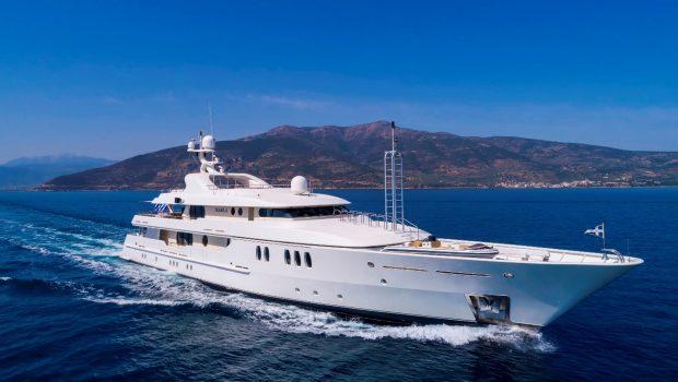 marla megayacht profile -  Valef Yachts Chartering - 3877