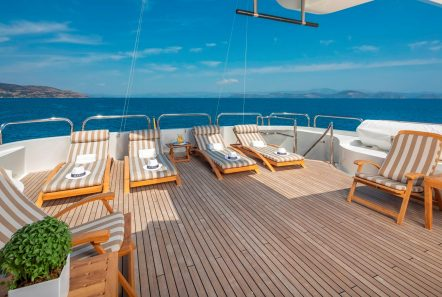 marla megayacht  sundeck -  Valef Yachts Chartering - 3876
