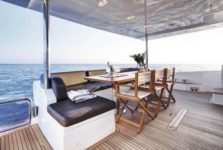 memories motor yacht aft -  Valef Yachts Chartering - 3984