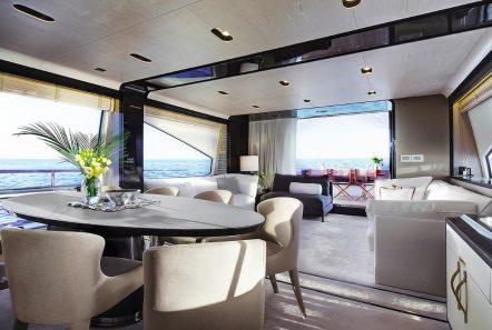 memories motor yacht dining -  Valef Yachts Chartering - 3978