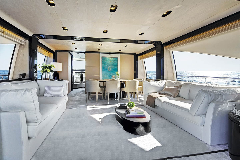 memories motor yacht salon -  Valef Yachts Chartering - 3991