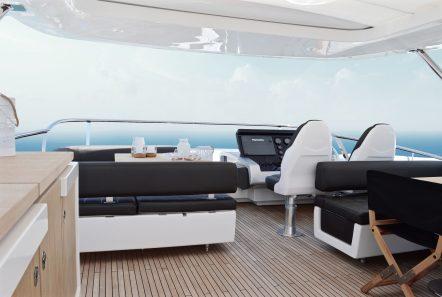 memories motor yacht sundeck -  Valef Yachts Chartering - 3988
