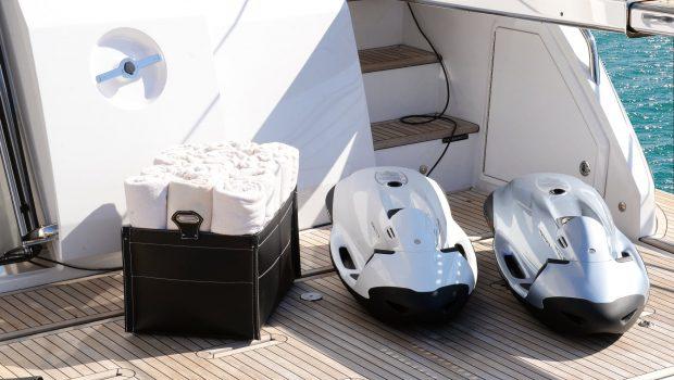 memories motor yacht swim platform -  Valef Yachts Chartering - 3986