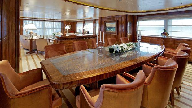 mia rama mega yacht dining2 min -  Valef Yachts Chartering - 3971
