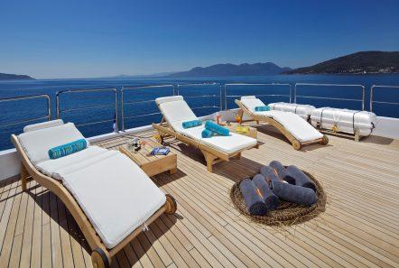 mia rama mega yacht sundeck min -  Valef Yachts Chartering - 3962