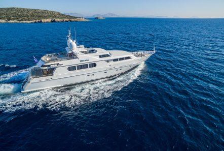 milos at sea motor yacht aerials (4) min -  Valef Yachts Chartering - 4318