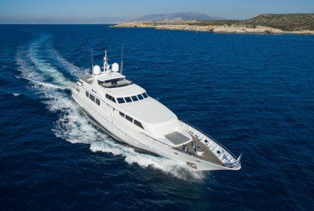 milos at sea motor yacht aerials (5) min -  Valef Yachts Chartering - 4317