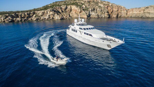 milos at sea motor yacht aerials (6) min -  Valef Yachts Chartering - 4316