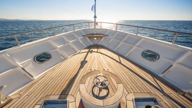 milos at sea motor yacht bow (1) min -  Valef Yachts Chartering - 4308