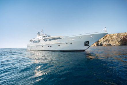 milos at sea motor yacht exteriors (1) min -  Valef Yachts Chartering - 4341