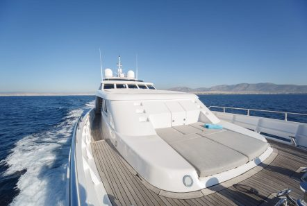 milos at sea motor yacht fore (1) min -  Valef Yachts Chartering - 4336