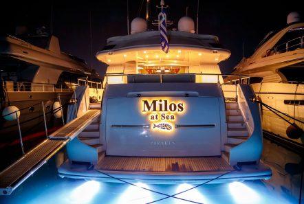 milos at sea motor yacht night lights min -  Valef Yachts Chartering - 4332