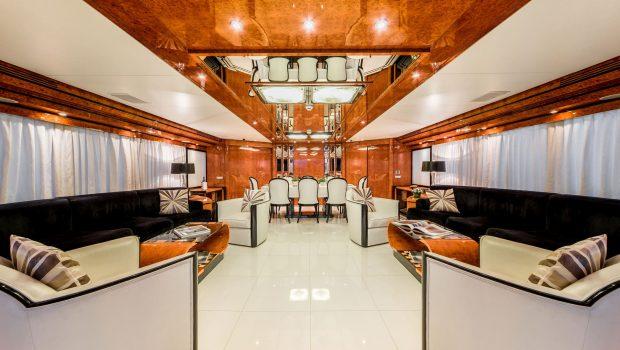 milos at sea motor yacht salon (2) min -  Valef Yachts Chartering - 4331