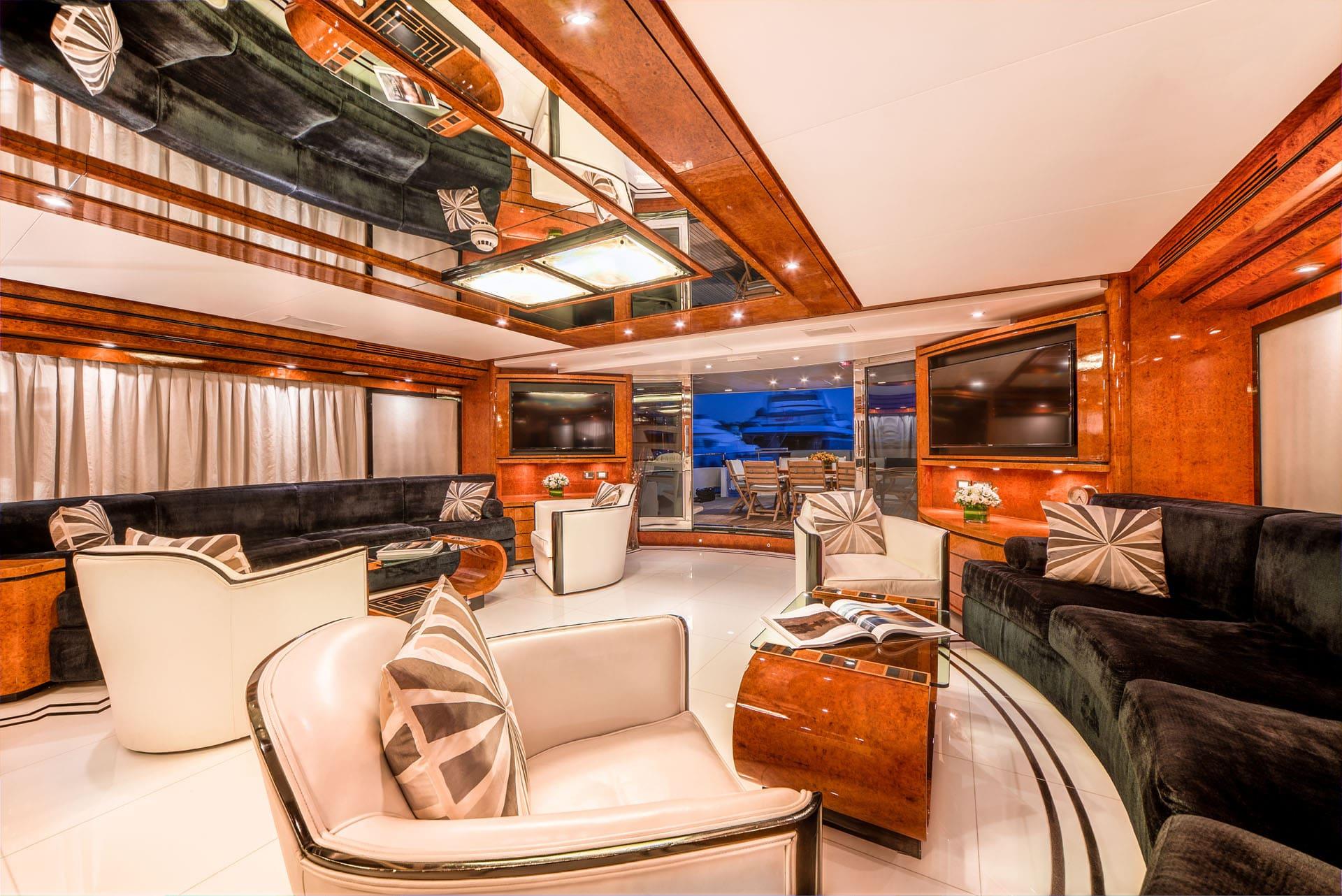 milos at sea motor yacht salon (4) min -  Valef Yachts Chartering - 4329