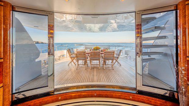 milos at sea motor yacht salon door min -  Valef Yachts Chartering - 4328