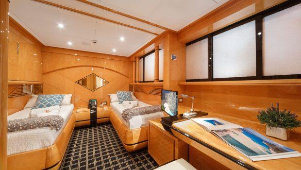 milos at sea motor yacht twin (1) min -  Valef Yachts Chartering - 4324