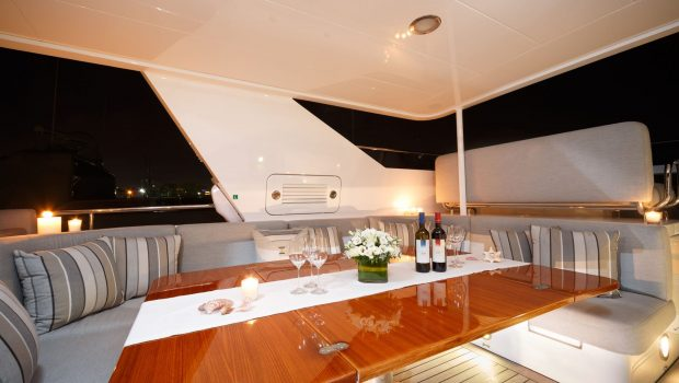 milos at sea motor yacht upper deck min -  Valef Yachts Chartering - 4322