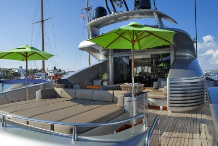 my toy motor yacht aft lounge -  Valef Yachts Chartering - 4960
