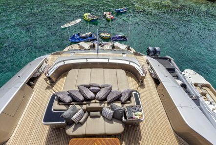 my toy motor yacht aft lounge2 -  Valef Yachts Chartering - 4959