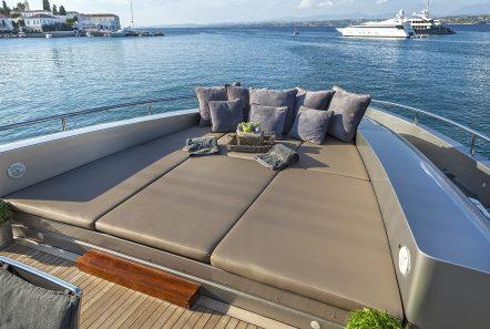 my toy motor yacht sun beds -  Valef Yachts Chartering - 4952