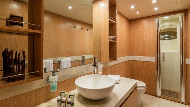 mythos motor yacht master bath min -  Valef Yachts Chartering - 4816