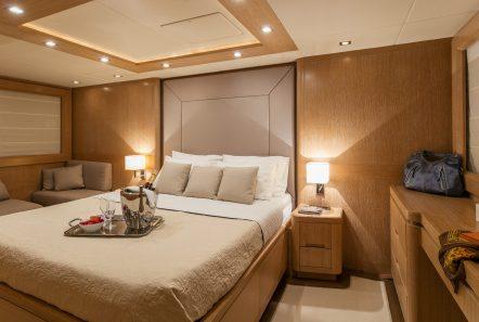 mythos motor yacht master stateroom min -  Valef Yachts Chartering - 4815