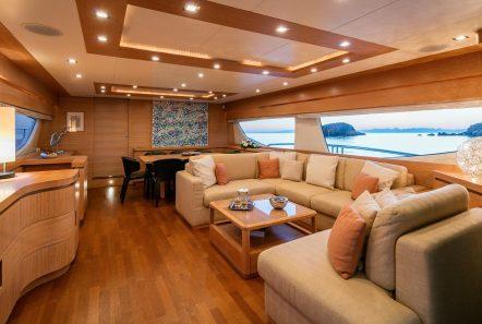 mythos motor yacht salon min -  Valef Yachts Chartering - 4813