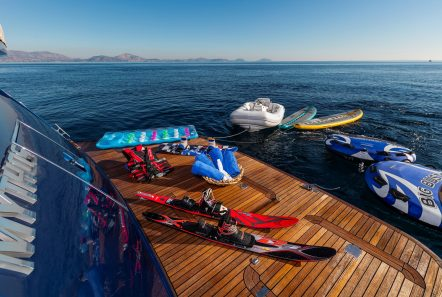 mythos motor yacht sea toys min -  Valef Yachts Chartering - 4812