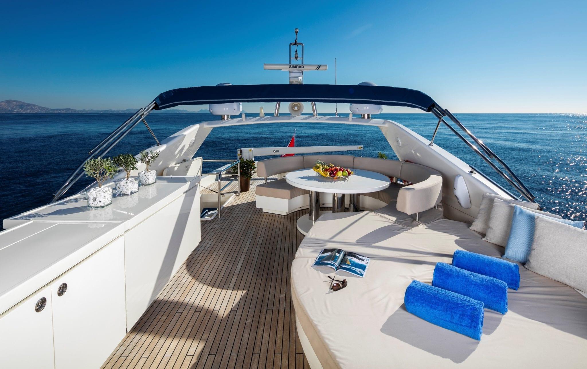 mythos motor yacht upper deck min -  Valef Yachts Chartering - 4808