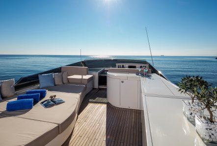 mythos motor yacht upper deck2 min -  Valef Yachts Chartering - 4809
