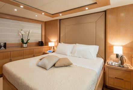 mythos motor yacht vip stateroom min -  Valef Yachts Chartering - 4807