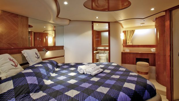 nell mare motor yacht master stateroom_valef -  Valef Yachts Chartering - 4847