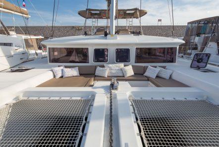 new horizons catamaran fore sun area_valef -  Valef Yachts Chartering - 5068