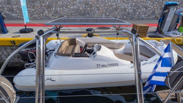 new horizons catamaran tender (1)_valef -  Valef Yachts Chartering - 5060