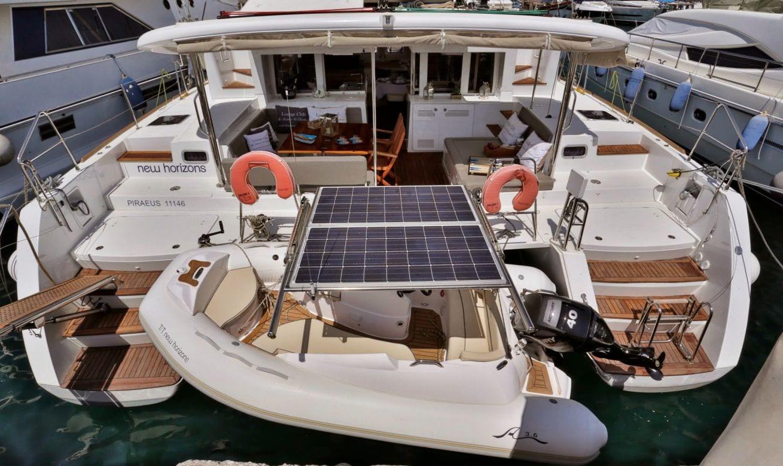 new horizons catamaran tender (2)_valef -  Valef Yachts Chartering - 5059
