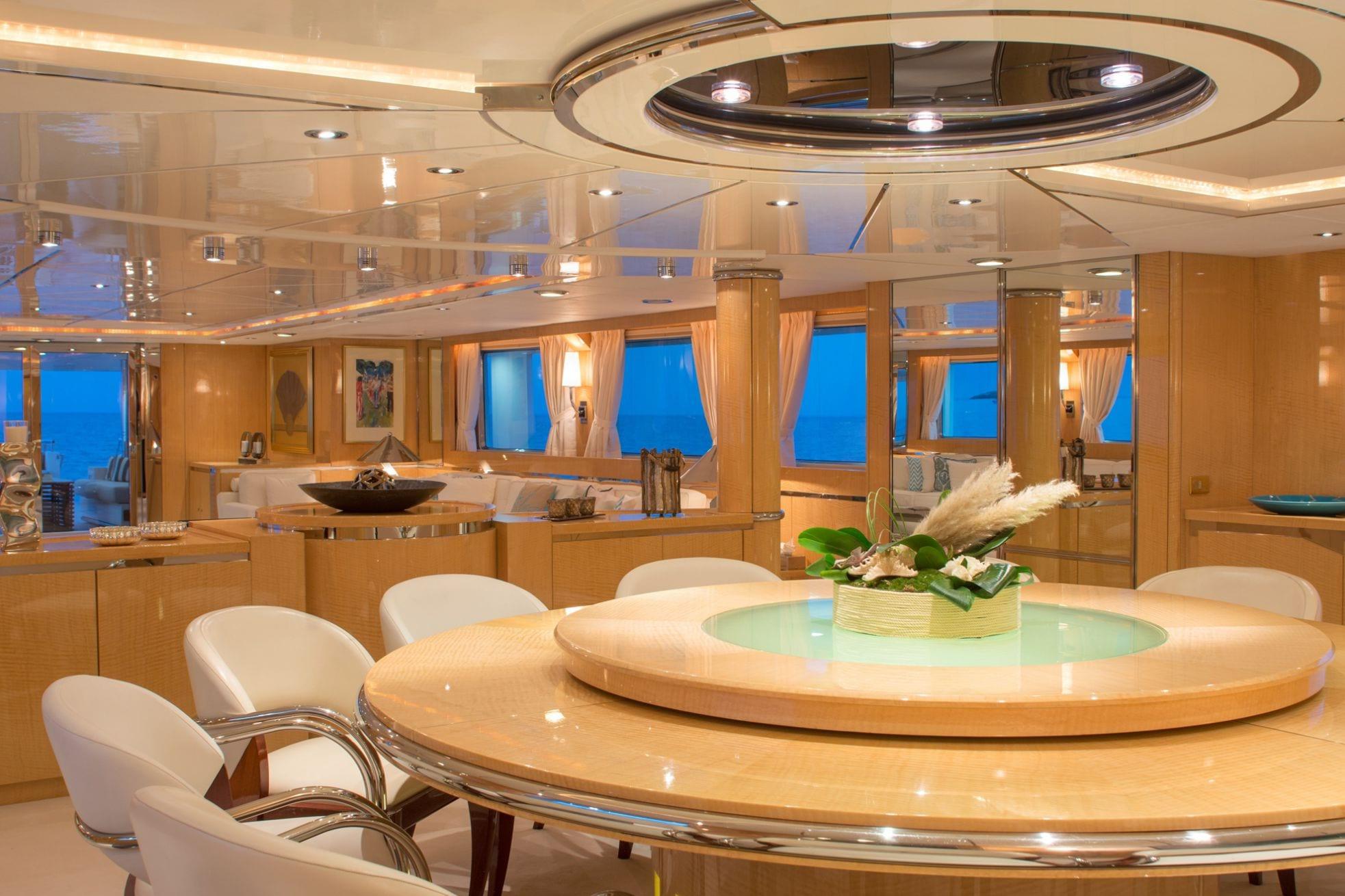 o_natalina interior dining (2)_valef -  Valef Yachts Chartering - 5003