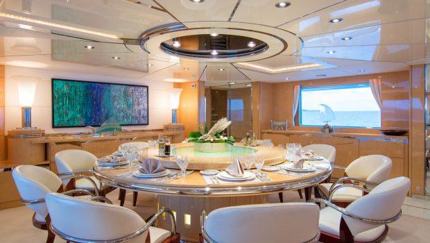 o_natalina interior dining (3)_valef -  Valef Yachts Chartering - 5002