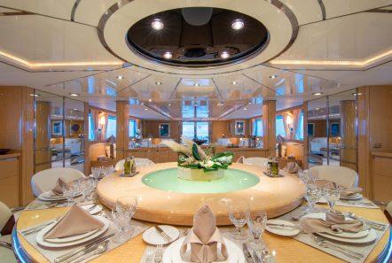 o_natalina interior dining (4)_valef -  Valef Yachts Chartering - 5001