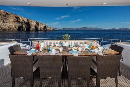 paris a motor yacht al fresco dining min -  Valef Yachts Chartering - 4757