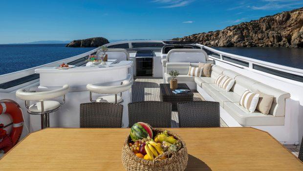 paris a motor yacht upper deck2 min -  Valef Yachts Chartering - 4748