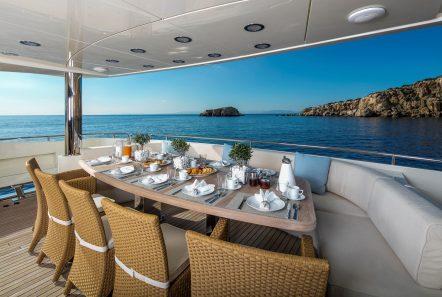 rini motor yacht aft -  Valef Yachts Chartering - 4865