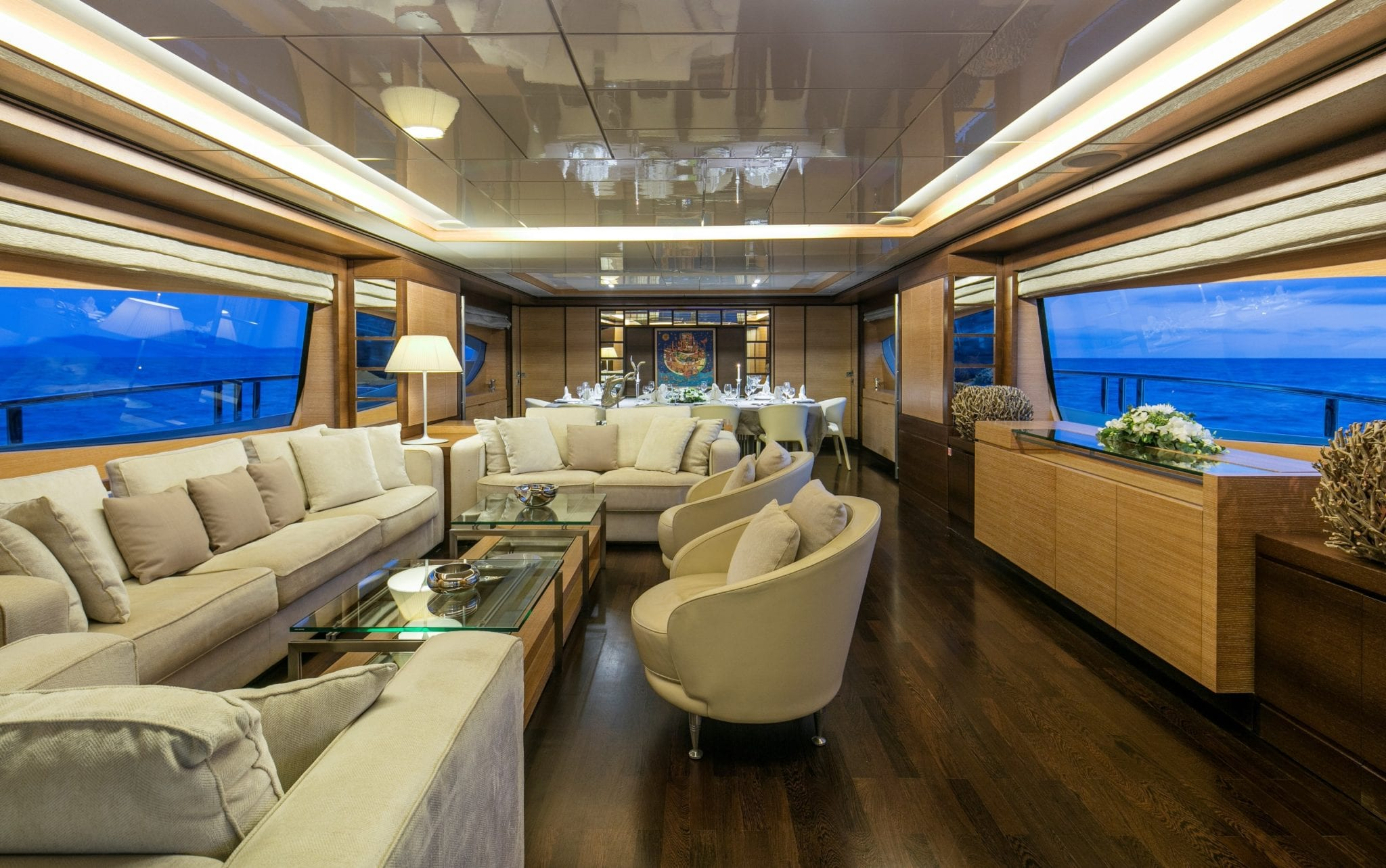 rini motor yacht salon1 -  Valef Yachts Chartering - 4857