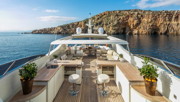 rini motor yacht sundeck (2) -  Valef Yachts Chartering - 4855