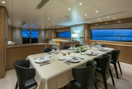 rini v motor yacht dining min -  Valef Yachts Chartering - 4839