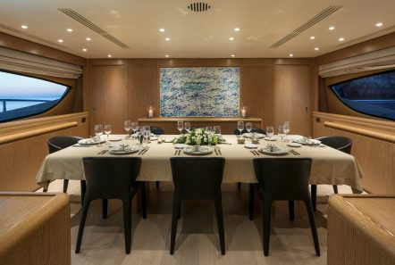 rini v motor yacht dining table min -  Valef Yachts Chartering - 4838