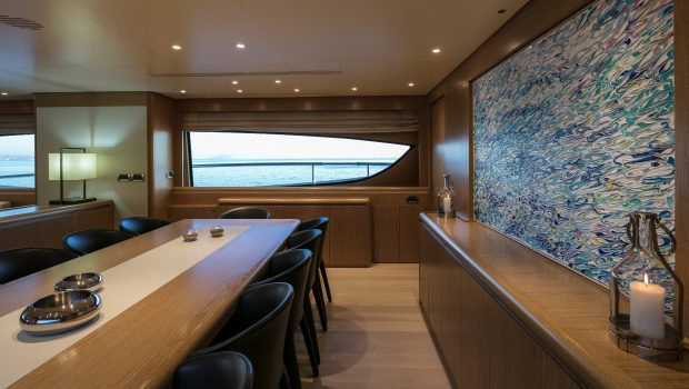 rini v motor yacht dining2 min -  Valef Yachts Chartering - 4840