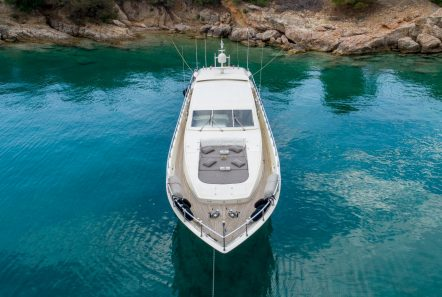 romachris ii motor yacht aerial -  Valef Yachts Chartering - 4069