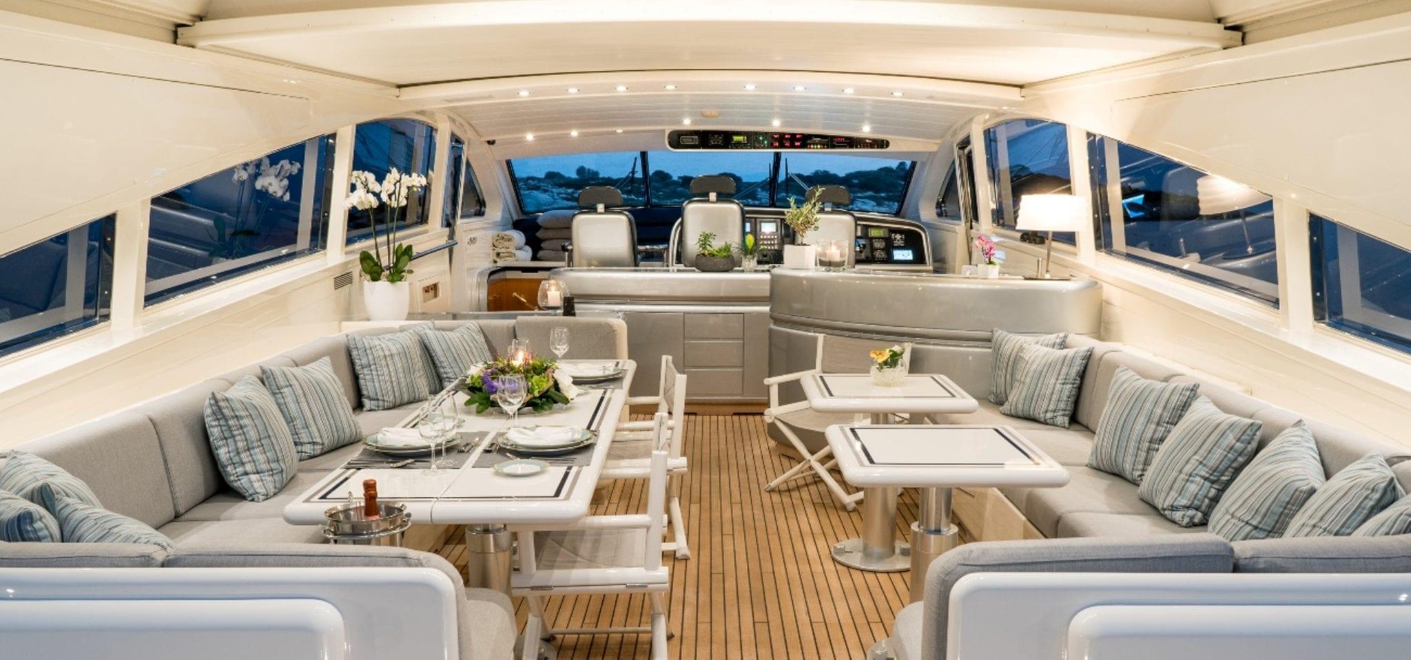 romachris ii motor yacht salon -  Valef Yachts Chartering - 4068